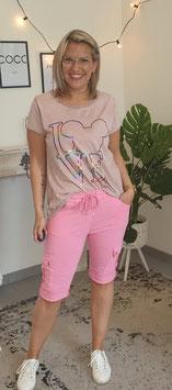 Bermudashorts CARGO Pink