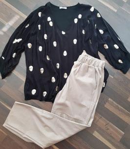 Bluse SKULL SPRING Black