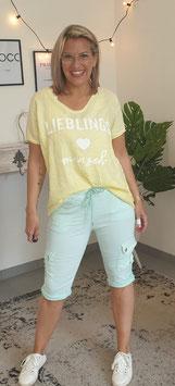 Tshirt LIEBLINGSMENSCH LINO Gelb