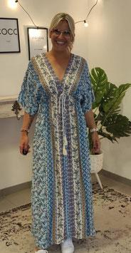 Kaftan Kleid Blau
