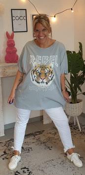 "Shirt ""REBEL"" Mint"