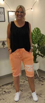 Caprihose NEVER AGAIN Orange