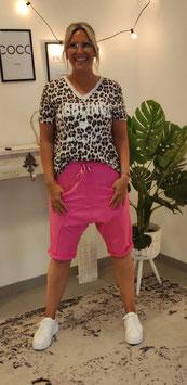 Tshirt LIEBLINGSMENSCH LEO Rosa