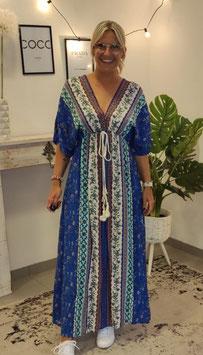 Kaftan Kleid Dunkelblau