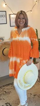 Tunikakleid BATIK SUMMER Orange