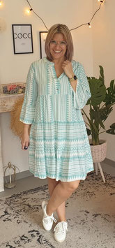 Tunikakleid AZTEK Turquoise