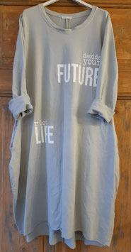 Sweatykleid FUTURE LIFE Grey
