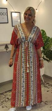 Kaftan Kleid Rot