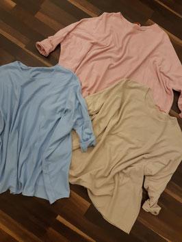 Basic Shirt SUNNY Blau