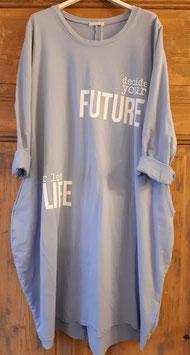 Sweatykleid FUTURE LIFE Babyblau
