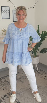 Bluse PERU Blau