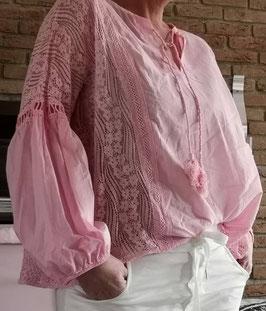 Bluse MARBELLA Rosa
