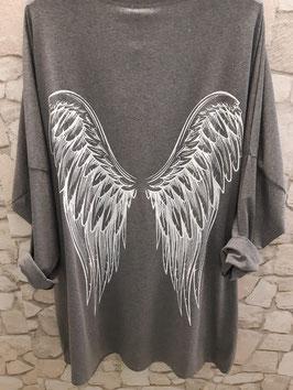 """Shirt """"Angel"""" Grey"""