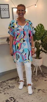 Tshirt Bluse POCCI Hellblau