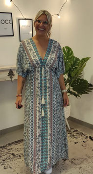 Kaftan Kleid Hellblau