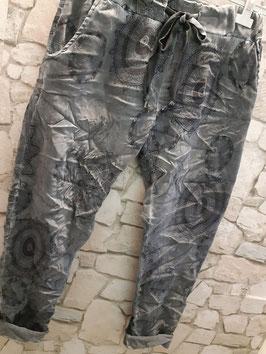 Schlupfhose India Grau