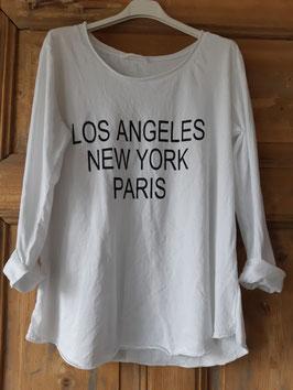 Shirt CITIES Weiß