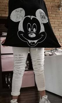 MICKEY Oversize Tshirt Black