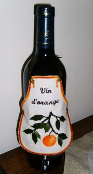 Tablier pour bouteille