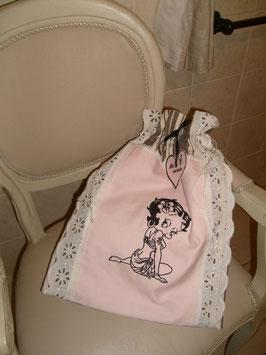 Sac lingerie Betty Boop