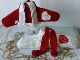 Cintre habillé de tricot