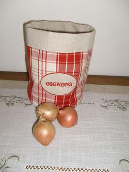 sac à oignons