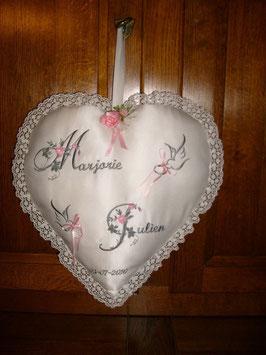 Maxi coeur de mariage