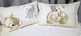 coussin oursons rectangulaire