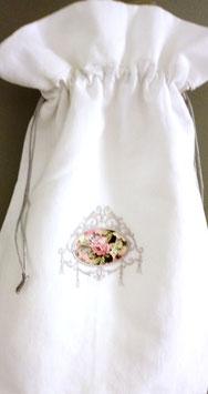 Sac lingerie blanc