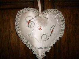 Coeur porte alliances
