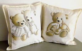 Coussin ours 45x45cm