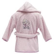 Peignoir de bain enfant JADE Rose blush