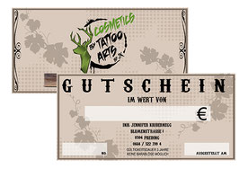 Gutschein Cosmetics by Tattoo Arts