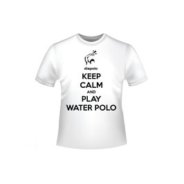 T-shirt Keep calm and play waterpolo