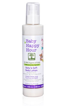 Happy Hour – milde Körpermilch für Babys