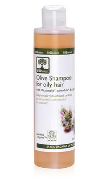 Olivenöl-Shampoo für fettiges Haar