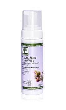 Natürlicher Reinigungsschaum für das Gesicht