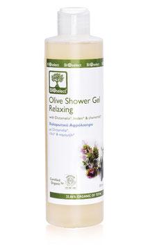 Entspannendes Oliven Duschgel