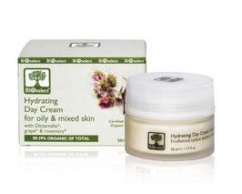 Regulierende Tages-Gesichtscreme für fettige- und Mischhaut