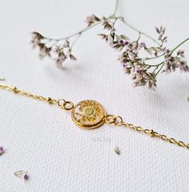 Armkette mit Blumen von uniq