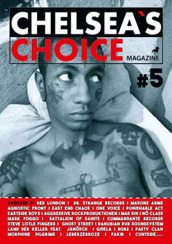"Chelsea`s Choice Magazine Ausgabe 5 inkl. 7""Flexi von Cock Sparrer"