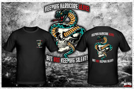 Shirt & Poster- Keeping Hardcore Alive