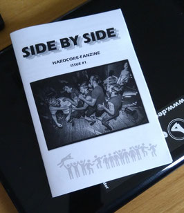 Side By Side  - Heft Nr. 1 - DIY Hardcore Fanzine