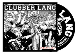 CD - Clubber Lang -  Colourless - Preorder - Release ca. 01.05.2021