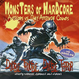 LP & CD - Monsters Of Hardcore - Split LP