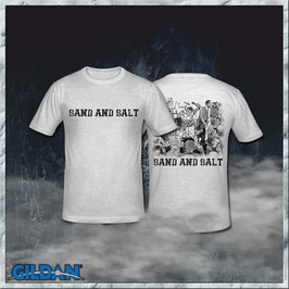 CD & Shirt - Sand And Salt  - Preorder - Release ca. 01.05.2021