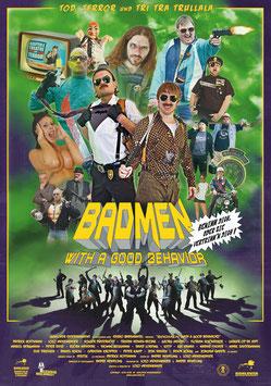 DVD - BADMEN (with a good behavior) - Benimm dich, oder sie vertrimm´n dich! - Versand ab 18 Jahren