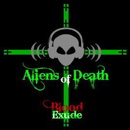 DR020 - CD - Aliens Of Death - Blood Exude