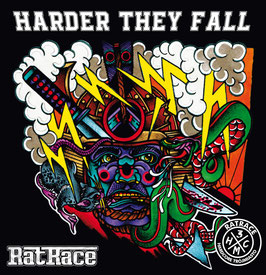 DR009 - RatRace - Harder They Fall - LP