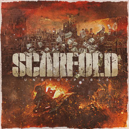 DR28 - CD - Scarfold  - Unstoppable  - Eurotouredition